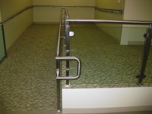 Custom Metal Handrails in Houston, Texas.