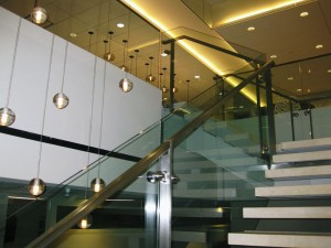 This is one of the many handrails that Texas Metal Tech has fabricated and installed.